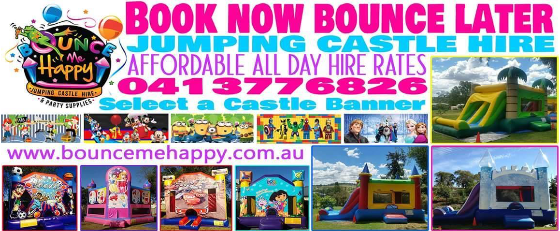 Bounce Me Happy (Jumping Castle Hire)